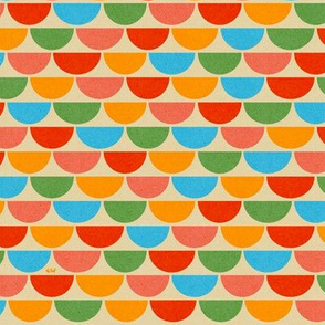 Rainbow Scallops