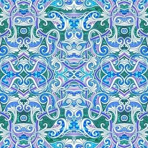 Curly Swirly Paisley Overkill