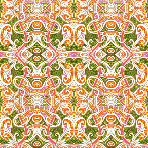 When the Paisley Fairy Hits You on the Head fabric by edsel2084 on Spoonflower - custom fabric