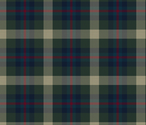 Forest Green Plaid fabric by briarfield_designs on Spoonflower - custom fabric