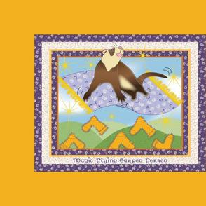 Magic Flying Carpet Ferret Gold