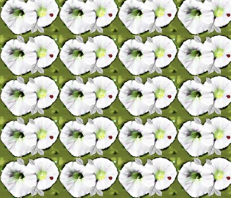 Petunias fabric by likesjewellery on Spoonflower - custom fabric