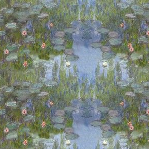 Monet's Nympheas ~ Doll Scale