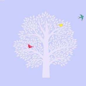 Tree of life-teal bird