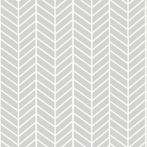 Light Grey Arrow Feather pattern