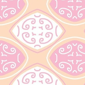 peach pink Way