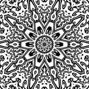 Floral Pattern 4 Large