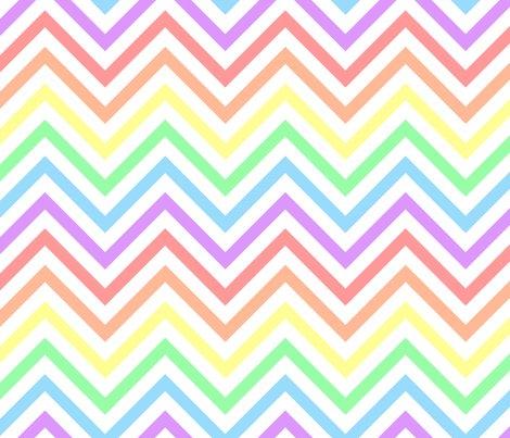 Chevrons_thin_pastels_white_print2_shop_preview