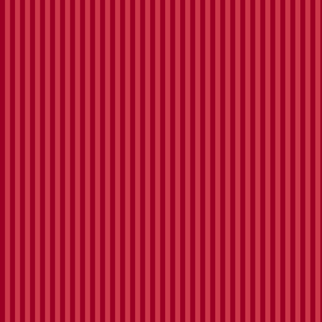 Christmas red mini-stripe fabric by weavingmajor on Spoonflower - custom fabric