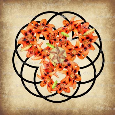 Lilly Wreath