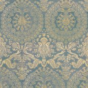 Catherine_of_aragon___provencal_blue_and_gold___large___peacoquette_designs___copyright_2013_shop_thumb