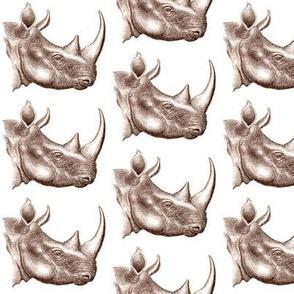 Rhino Repeat Antique
