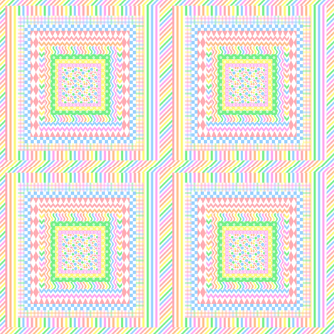 Pastel Layers fabric by lorileidig on Spoonflower - custom fabric