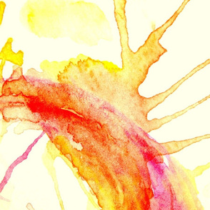 Watercolour Sun II