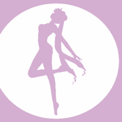 Sailor Moon Silhouette -purple-