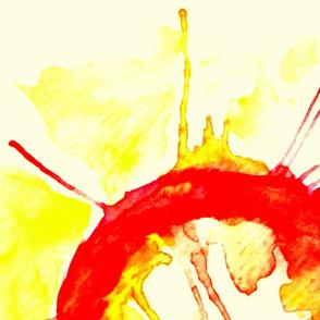 Watercolour Sun V