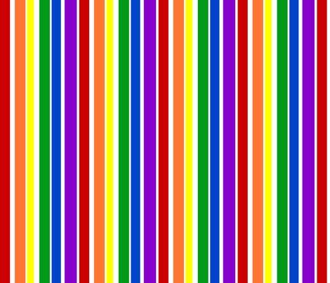 Rainbow stripes fabric joyfulrose spoonflower for Rainbow color stripe watch