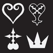 Kingdom Hearts Symbols -reverse-