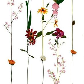 Floral wallroll