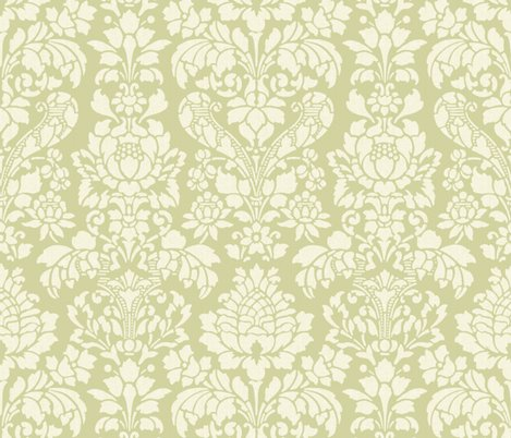Rbalmoral_damask___white_on_sylvan___large____linen___peacoquette_designs___copyright_2014_shop_preview