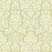 Rbalmoral_damask___white_on_sylvan___large____linen___peacoquette_designs___copyright_2014_shop_thumb