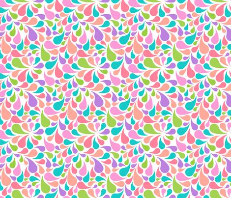 Peacock Paisleys fabric by joyfulrose on Spoonflower - custom fabric