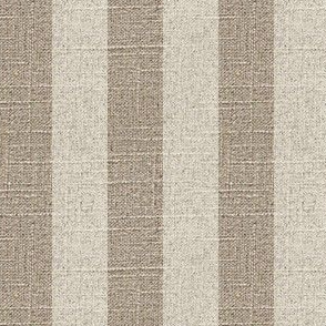 Cream Stripe on Linen