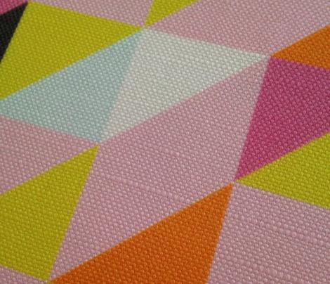 Geometric Triangles Bright