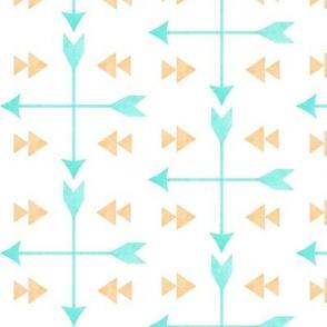 Which Way Watercolor Arrows