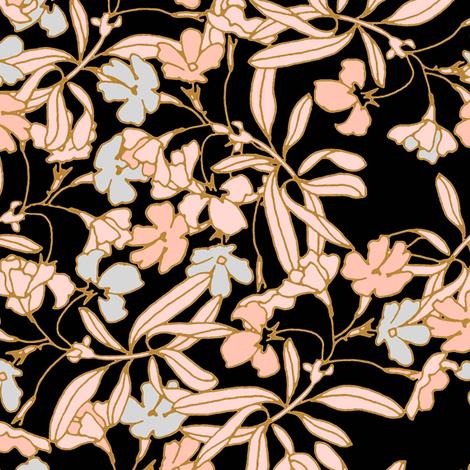 Romantic Garden fabric by joanmclemore on Spoonflower - custom fabric