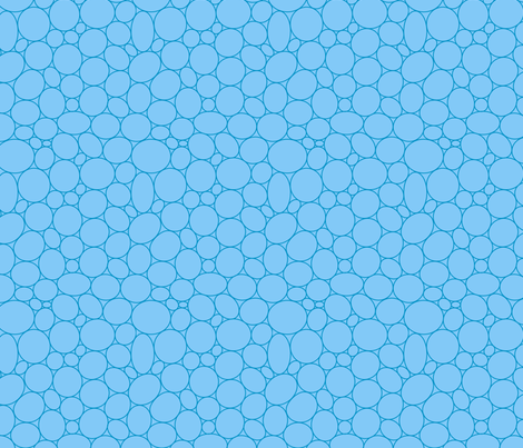 Pebbling Quilt Me! Light Blue fabric by leah_day on Spoonflower - custom fabric
