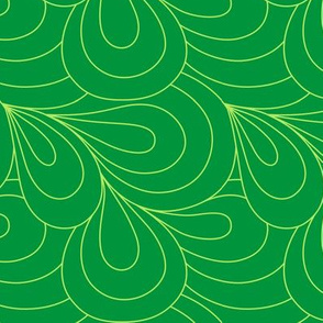 Paisley Quilt Me! Green