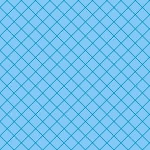 Gridlines Quilt Me! Blue