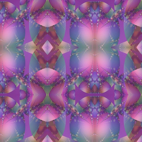 Plum Bubble Fractal