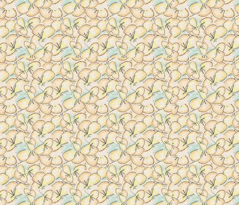 lilies-chicamancha fabric by chicamancha on Spoonflower - custom fabric