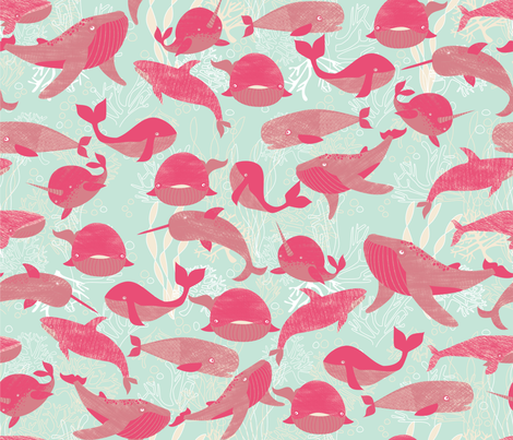 The Pod Squad fabric by meg56003 on Spoonflower - custom fabric