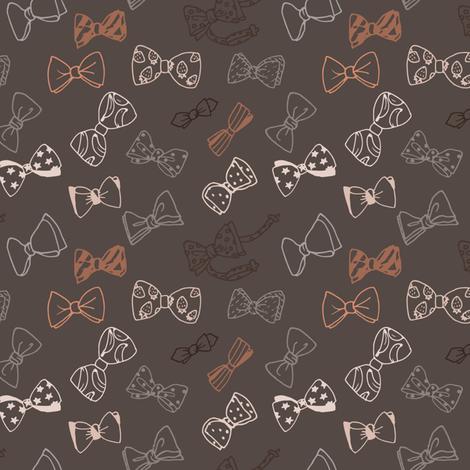 bow ties fabric by dasha-li on Spoonflower - custom fabric