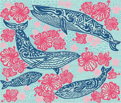 Aloha navy whales