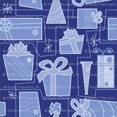 Gifts (blue)