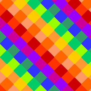 Rainbow Checkered
