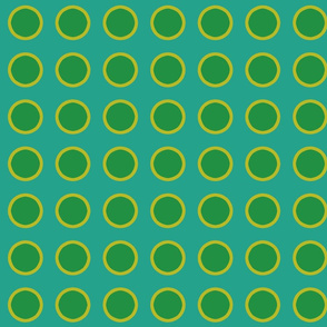 polka_dots_green_and_yellow_on_blue