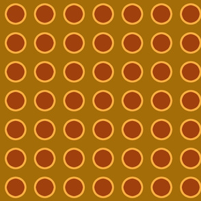 polka_dots_maroon_and_gold_on_brown