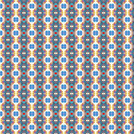 Blue Aspen fabric by ravynscache on Spoonflower - custom fabric