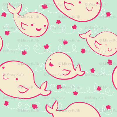 Baby Beluga Whales
