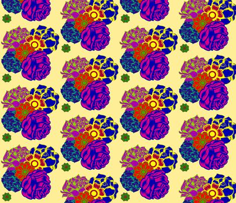 LSD Flowers fabric by bananana on Spoonflower - custom fabric