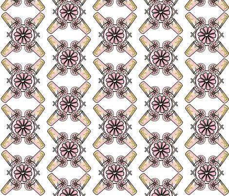 pink lemonade fabric by seedtosalad on Spoonflower - custom fabric