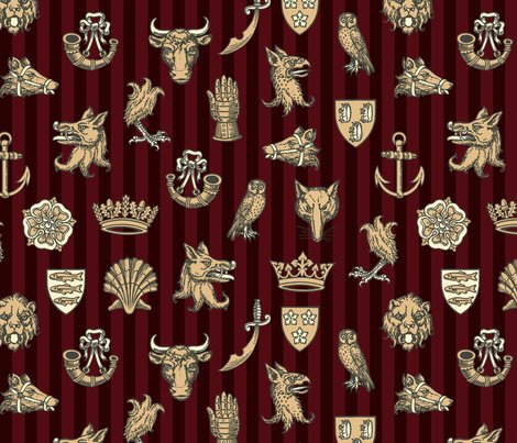 Heraldry_repeat_stripe8_print_shop_preview