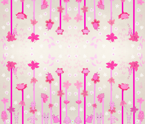 Hip Hop Lily Land fabric by charldia on Spoonflower - custom fabric