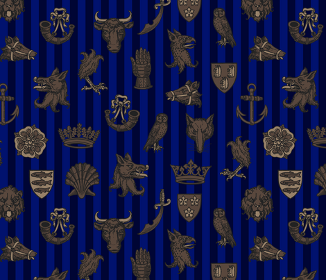 battle of st. albans (warwick) fabric by mossbadger on Spoonflower - custom fabric