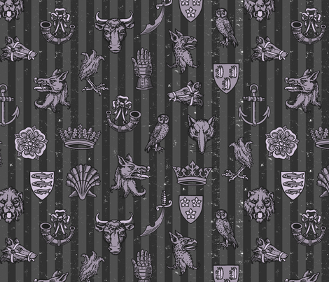 battle of st. albans (buckingham) fabric by mossbadger on Spoonflower - custom fabric